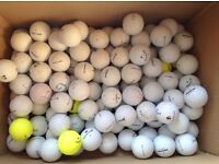 100 mixed golfballs in good condition