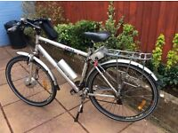 PowaByke electric bike, gents model on Raleigh frame, £200