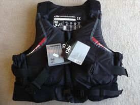 Buoyancy Aid XL, 116cm, 70kg, 50N. Date of manufacture 2011. Never used. Tags still on.