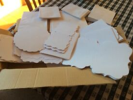 Box of blank cards and envelopes assorted