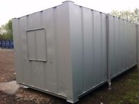 FULLY FURNISED 28FTX10FT STEEL ANTI-VANDAL OPEN PLAN OFFICE