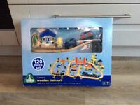 NEW ELC Early Learning Centre Wooden Train Set