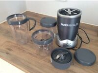 600w Nutribullet - dark grey, all the accessories, unboxed. Hardly used.