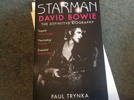 STARMAN The Definitive Biography David Bowie By PAUL TRYNKA