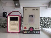 VQ Retro Mini DAB / DAB+ / FM / Bluetooth Radio / Speaker