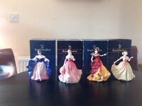 ROYAL DOULTON FIGURES IN EXCELLENT CONDITION