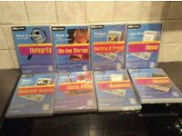 All 8 PC CD-ROM Disc are new