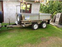 Tipping trailer 8x5 tel 01862851367