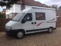 Peugeot Boxer Campervan 2004 (Rainbow Rambler) fully equipped ready to go.