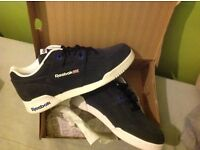 Reebok workouts. Size 7. Brand new, still in box. £35. Trainers, sneakers, shoes.