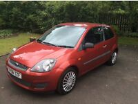 Reduced to sell Fiesta TDCI diesel climate .Candy red metalic 1 yrs MOT low low miles