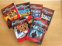 James Patterson X 6 Bookshots- All Paperback- All 2016 - All NEW
