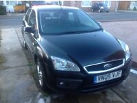 Ford Focus 2.0TDCI Titanium. Half Leather, A/C, Panther Black. High spec car in good condition