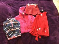 Baby girl bundle of clothes age 2-4 years in excellent condition