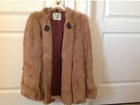 Real fur jacket 1980s perfect condition £40 size 14 can del if local