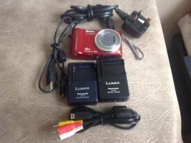 Panasonic DMC-TZ7 Digital camera (RED)