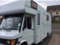 Mercedes 308d caravan campervan motor home 2.3 desiel