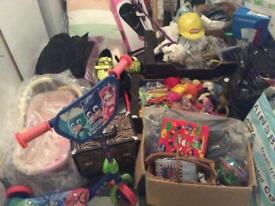 Large amount assorted items great for carboot