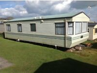 STATIC CARAVAN FOR RENT FROM MARCH 18th AT DEVON CLIFFS EXMOUTH IN DEVON
