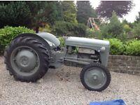 Ferguson tractor (Grey Fergie) (SOLD)