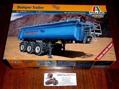 Für LKW Truck  Dumper Trailer Muldenkipper Anhänger    in 1:24 von Italeri 3845