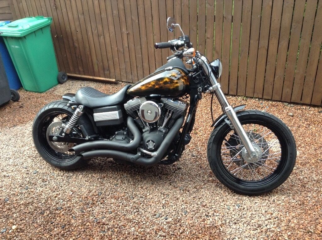 harley davidson 1584 custom street bob 2008 in leven fife gumtree. Black Bedroom Furniture Sets. Home Design Ideas