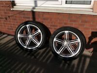 "GENUINE AUDI S LINE 20"" ALLOY WHEELS A4 S4 A6 S6 A8 S8 Q3 S3 Q5 S3 Q7 S7 etc"