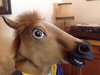 Horses head Halloween mask