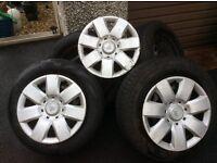 CITROEN BERLINGO WHEELS ,tyres and trims