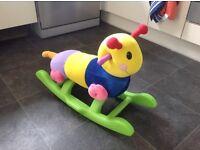 Rocking Caterpillar Toy
