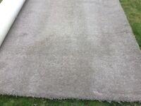 Carpet Remnant Good Used Condition 312x356cm Light Brown (Mink) Colour £40