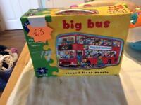 Orchard jig saw big bus
