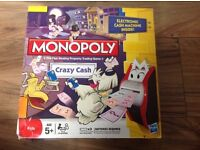 Monopoly Crazy cash game age 5+