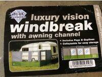Luxury vision windbreak unused