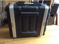 Stagg moulded PE rack for musician / dj. Stack, rack & transport safely.