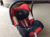Britax car seat 0-13kg