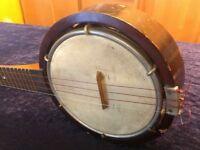 Keech 100 year old! Collectable Banjo Ukulele / Banjulele Banjolele