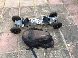3m power kite and land board