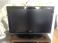 """samsung 37"""" led,hd ready with freeview tv"""