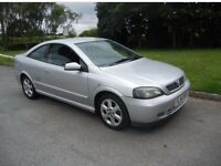 2004 Vauxhall Astra coupe 1.8cc petrol 84000 miles on the clock 12 months mot very clean car