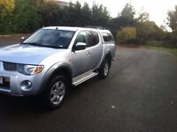 Mitsubishi L200 2.5DI-D 4WD Double Cab Pickup auto Warrior