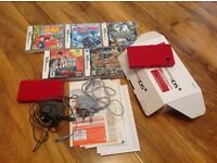 Red Nintendo DS Lite &DSI with 5 games