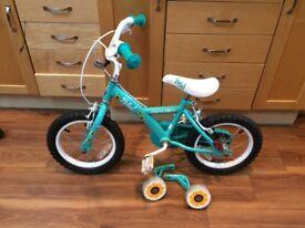 "Apollo Petal Kids Bike - 14"" Wheel Great condition"
