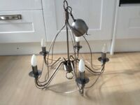 Modern 5 arm light fitting