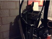 Cross trainer - hardly used bought from John Lewis - excellent condition