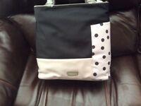 Radley nylon grey and black bag