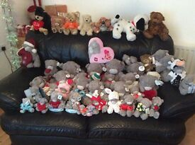 Collection of 47 tatie teddys &7 0ther toys teddys
