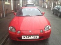 Honda crx del sol red automatic
