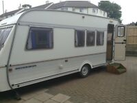 SWIFT CONQUEROR LUX 5 1990's WITH FULL AWNING & ANNEX