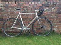 Andre Bertin single speed racing bike columbus steel